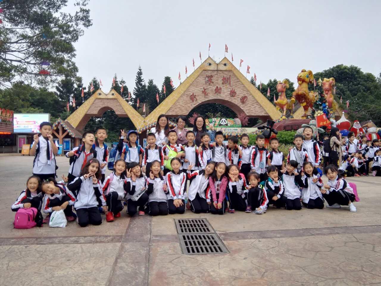 深圳市耀华实验学校-野生动物园游学记